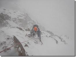 Cairngorms Climb Central Gully Ice Climb