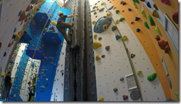 Glenmore Lodge Climbing Wall Crack Climb