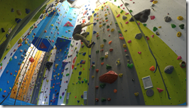Glenmore Lodge Climbing Wall