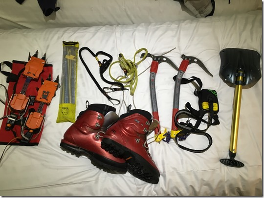 Glenmore Lodge Ice Climbing Kit