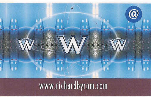 Blog Card for Richard Byrom from the front