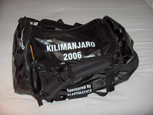 Kilimanjaro Mountain Equipment Duffle Bag