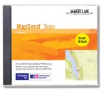 CD for Magellan Mapsend Topography of Great Britain
