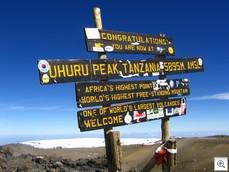 Uhuru Peak - Mount Kilimanjaro, Tanzania
