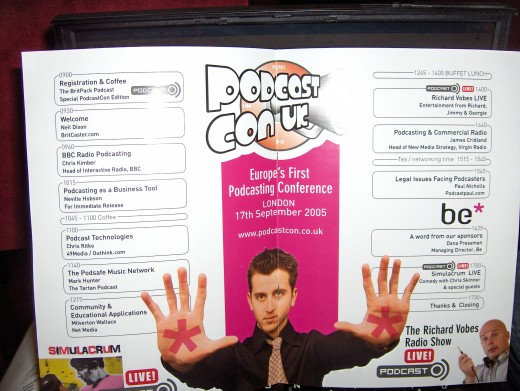 Podcast Conference UK 2005